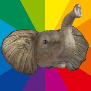 'ELEPHANT 32 couleurs au choix 109cm-67163799