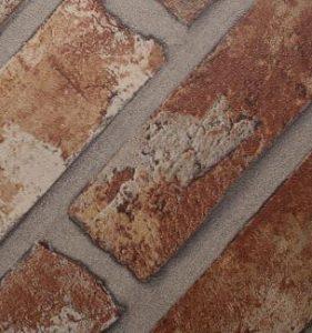 70237-Adhésif brique rouge