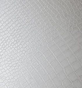 702411-Adhésif croco blanc
