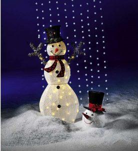 Idée déco bonhomme de neige