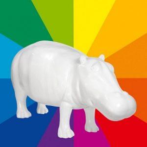 HIPPOPOTAME 32 couleurs au choix190cm-55167099
