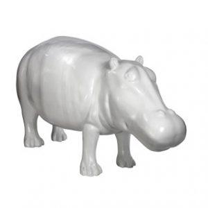 HIPPOPOTAME blanc 190cm-55167000