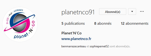 instagram planet n co
